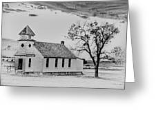 Church On The Plains Greeting Card