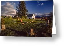 Church Potlatch Idaho 1 Greeting Card