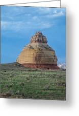 Church Rock On The Road To Moab Greeting Card