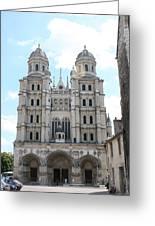 Church Saint Michel - Dijon Greeting Card