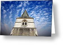 Church Spire Greeting Card
