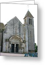 Church St Thibault- Burgundy Greeting Card