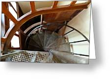 Church Stairs Greeting Card