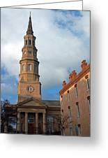 Church Street In Charleston Sc Greeting Card