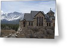 Church With A View Greeting Card