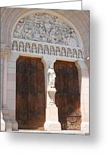 Churchdoor - Saint Peter - Macon Greeting Card