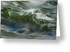 Churning Waters Greeting Card