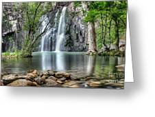 Cider Creek Falls Greeting Card