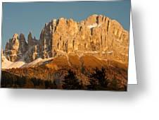 Cima Catinaccio Greeting Card