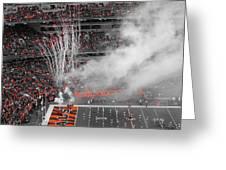 Cincinnati Bengals Playoff Bound Greeting Card