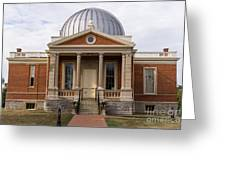Cincinnati Observatory In Cincinnati Ohio Greeting Card by Paul Velgos