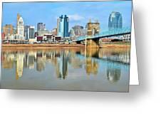 Cincinnati Reflects Greeting Card