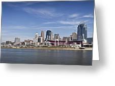 Cincinnati, Ohio Panorama Greeting Card