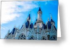 Cinderella Castle Greeting Card