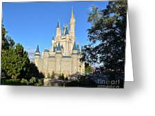 Cinderella's Castle II Greeting Card