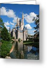 Cinderellas  Castle Greeting Card