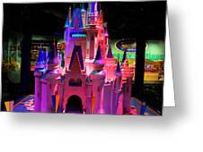 Cinderellas Castle Number One Greeting Card