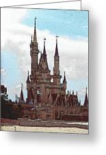 Cindies Castle Greeting Card