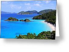 Cinnamon Bay St. John Virgin Islands Greeting Card