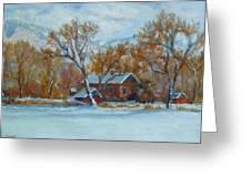 Cinnamon House  Greeting Card