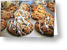 Cinnamon Muffins Greeting Card
