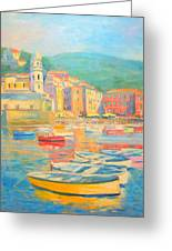 Cinqueterre- Vernazza Greeting Card