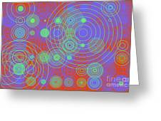 Circle Of Love  II Greeting Card by Ilona Svetluska