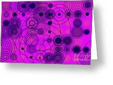 Circle Of Love IIi Greeting Card by Ilona Svetluska