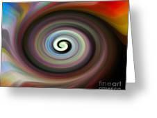 Circled Carma Greeting Card