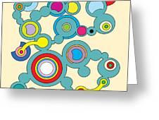 Circles 3 Greeting Card