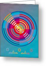 Circles Greeting Card