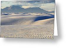 Circles In The Sand Greeting Card