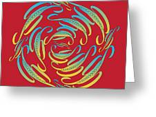 Circularity No. 674 Greeting Card