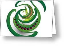 Circularity No. 690 Greeting Card
