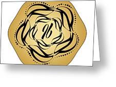Circularity No. 697 Greeting Card