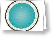 Circularity No. 728 Greeting Card