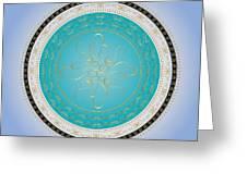 Circularity No. 733 Greeting Card