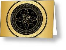 Circularity No. 734 Greeting Card