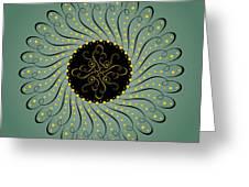 Circularity No. 750 Greeting Card