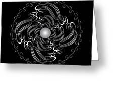 Circularity No. 751 Greeting Card