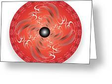 Circularity No. 754 Greeting Card