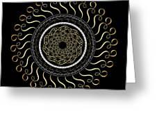 Circularity No. 759 Greeting Card