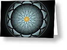 Circularity No. 767 Greeting Card