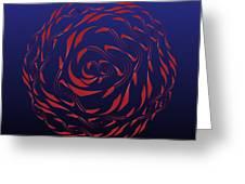 Circularity No. 772 Greeting Card