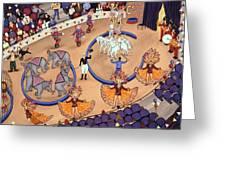 Circus Ladies Greeting Card
