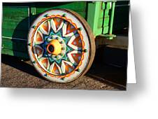 Circus Wagon Greeting Card
