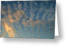 Cirrocumulus Morning Greeting Card