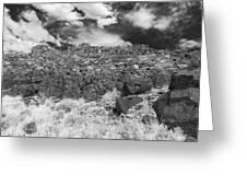 Citadel Pueblo West Wall Greeting Card