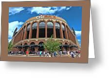 Citi Field Entrance Rotunda Greeting Card