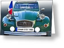 Citroen 2 Cv - France Greeting Card